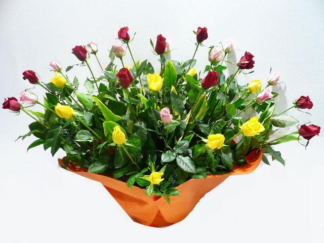 周年祝いに贈る花
