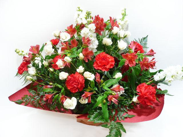 出展記念に贈る花