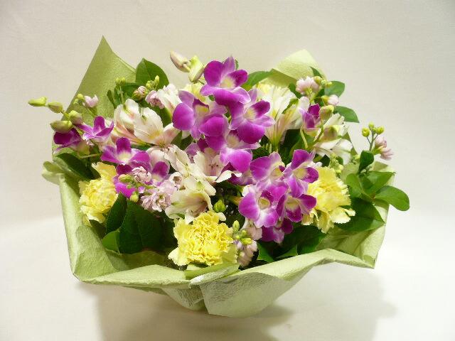 洋花 色身の付いた 供養花