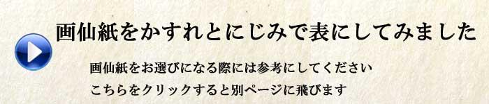 書道画仙紙のにじみとかすれについてはこちらのページへ