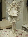 Standing ホワイトフェアリー (l) size fairy rose Princess Angel Angel romantic gadgets romantic gadgets Angel figurine fairy sculpture figurine gardening Gift Giveaway 05P01Feb14