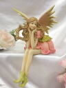カラーフェアリー: B fairy rose Princess Angel Angel romantic gadgets romantic gadgets Angel figurine fairy sculpture figurine gardening gifts giveaway