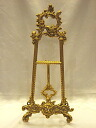 Stylish brass easel (l) size BRASS brass brass antique gold interior decoration store