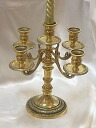 Brass 5 light candle stand BRASS brass brass antique gold interior decoration store stylish