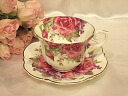 Rose Cup & saucer: レッドローザ