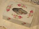 Rose ceramic ミニティッシュ case