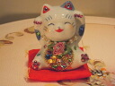 Glittery gorgeous ♪ happy! Deco beckoning business thriving Grand opening celebration pass pray for congratulation family a mascot cat figurine