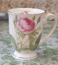 Mug cup of the ルドゥーテローズ rose for microwave oven