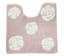 Cotton restroom mat: Rose