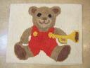 Cotton mat: bear Terry cloth bath mat cotton 100% cotton