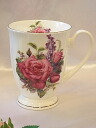 The mug cup of the rose for microwave oven: Red Rosa