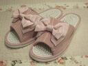 モアレリボン. health Sandals: pink