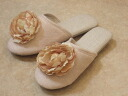 Big Rose software slippers: Beige room slippers room shoes fashion visitor slippers
