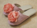 Big Rose software slippers: Pink room slippers room shoes fashion visitor slippers