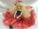 Wakatsuki Marin child flower fairy doll! エルフィンフローリー: Joy (red) Bisque dolls fairy flower fairy doll gift festive keepsake pottery