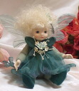 Wakatsuki Marin child flower fairy doll! リトルエルフィン: Peppermint Bisque dolls fairy flower fairy doll gift festive keepsake pottery