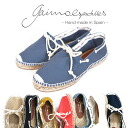 GAIMO りぼん with the ガイモ GAIMO ALPARGATA CORDON LONA espadrille canvas slip-ons Lady's shoes shoes string