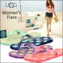 2011 New アグオーストラリア Woman's Flare Womens flare flip flops.