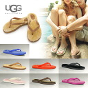 UGG アグサンダルムートンビーチサンダルレディース regular article / celebrity habitual use tong sandals sheepskin insole ぺたんこ resort yukata brown red red black black white white blue deep-discount sale outlet price popularity ranking 2013