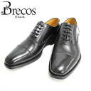 NERO (black) Brecos BRE COS 4725 wing tip in feather Medallion leather leather shoes black mens business = = 10P20Sep14