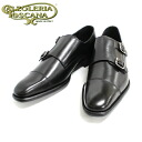Calzoleria Toscana carzorelia Tuscany a791 NERO (black) double monk strap straight tip leather shoes black mens business = = 10P20Sep14