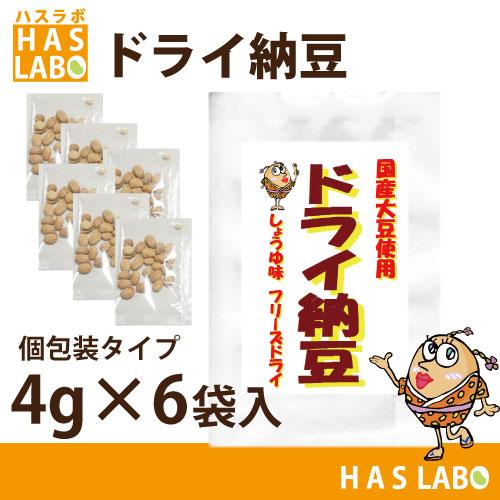 ドライ納豆4gx6