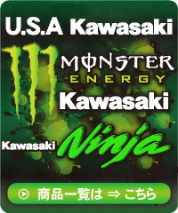 U.S.A Kawasaki��Monster Energy�Υ���ܡ�