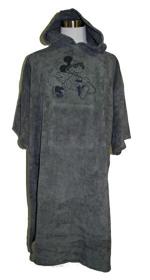 ディズニーライセンス正規品ミッキーマウスサーフィン用タオルお着替えポンチョ