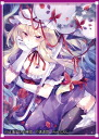 "70 逸遊団 character card sleeve east Project ☆"" purple /illust: Similar★"