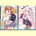 Two kinds of WNB Tachikawa Mako card sleeve sets