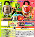 Two kinds of 07 Bandai kamen rider 鎧武 sound lock series capsule lock seed ☆ rare omission sets★