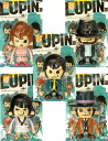 All five kinds of LUPINIII X PansonWorks Lupin the Third ソフビフィギュア 1 in Brister sets