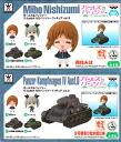 Girls & Panzer at Tyson because or Chibi Panza figure vol.2 ☆ 2 set ★