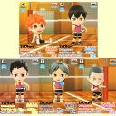 """ちびきゅん character """"a high cue!"""" !』 During ... crow field volleyball club break! All five kinds of ~☆ sets★"""