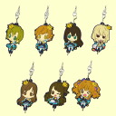 The idolm@ster little niece and consolidated as rubber mascot vol.1 ☆ all 7 species set ★.