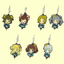 The idolm@ster little niece and consolidated can rubber mascot vol.2 ☆ all 7 species set ★.