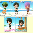"ちびきゅん character ""basketball - summer vacation - vol. of the mole"" All five kinds of 2 ☆ sets★"