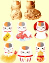 Natsume yujincho plump Koi nyanko-Sensei wallet Petit Cote ☆ all 8 species set ★