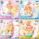 All four kinds of ONE PIECE - one piece - I LOVE SHIRAHOSHI GIRLISH figure skating ☆ sets★