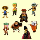 ONE PIECE-one piece - 8Type figure vol.5 8 set