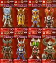 Set of 8 Kamen Rider series 8Type figure vol.18 all