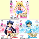 Bishoujo senshi Sailor Moon Crystal collected figures for Girls1 ☆ all three set ★