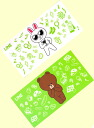 HELLO, all two kinds of FRIENDS LINE LINE TOWN bath towel ☆ sets★