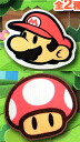 All two kinds of room mat ☆ sets fluent in paper Mario PAPER MARIO supermarket seal★