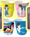All four kinds of edge child melamine cup ☆ sets of the glass★