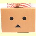 よつばと! Dan baud corrugated cardboard portfolio bag