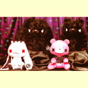 Zippers GP SPACE INVADERS X グル - ミ -, general-purpose rabbit stuffed toy (all four kinds of 35th Anniversary.) ☆ sets)★