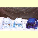Chax GP general purpose rabbit mascot ( Winter edition) ☆ all three set