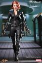 HOTTOYS hot toys movie masterpiece DX [Avengers] black widow 1 / 6 scale figure