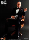 Vito Corleone the Godfather PART I hot toys movie masterpiece 1 / 6 scale figure